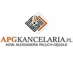 adwokat Aleksandra Paluch-Gęgała - APG Kancelaria Adwokacka