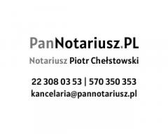 Kancelaria Notarialna Piotr Chełstowski Notariusz